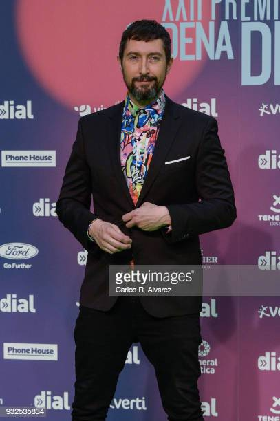 Toni Garrido attends 'Cadena Dial' Awards 2018 Red Carpet on March 15 2018 in Tenerife Spain
