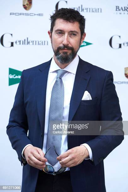 Toni Garrido attends the Gentleman awards 2017 at the Lazaro Galiano Museum on June 1 2017 in Madrid Spain