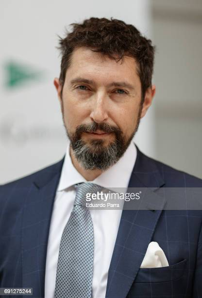 Toni Garrido attends the 'Gentleman Awards 2017' photocall at Lazaro Galdiano museum on June 1 2017 in Madrid Spain