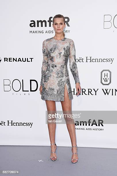 Toni Garrn arrives at amfAR's 23rd Cinema Against AIDS Gala at Hotel du CapEdenRoc on May 19 2016 in Cap d'Antibes France