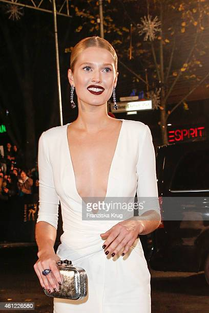 Toni Garrn arrives at the Bambi Awards 2014 on November 13 2014 in Berlin Germany