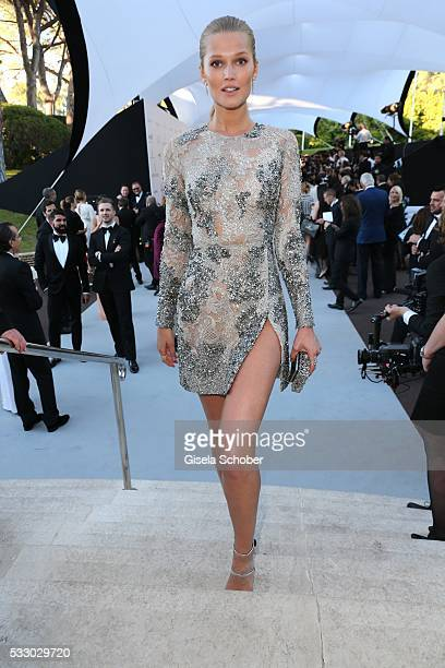 Toni Garrn attends the amfAR's 23rd Cinema Against AIDS Gala at Hotel du CapEdenRoc on May 19 2016 in Cap d'Antibes France