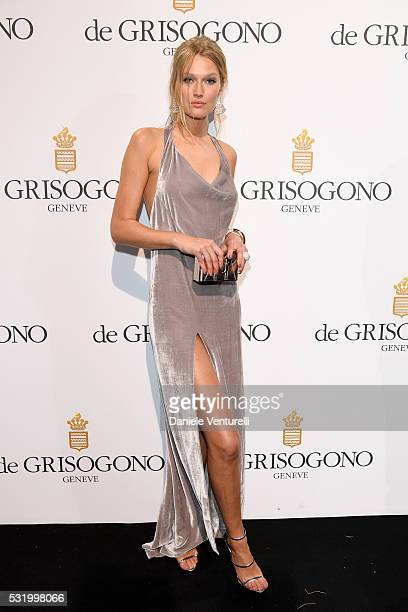 Toni Garrn attends the De Grisogono Party at the annual 69th Cannes Film Festival at Hotel du CapEdenRoc on May 17 2016 in Cap d'Antibes France