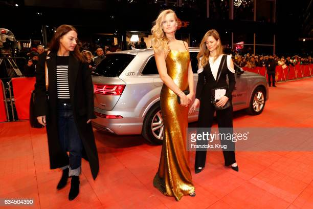 Toni Garrn attends the 'Django' premiere during the 67th Berlinale International Film Festival Berlin at Berlinale Palace on February 9 2017 in...