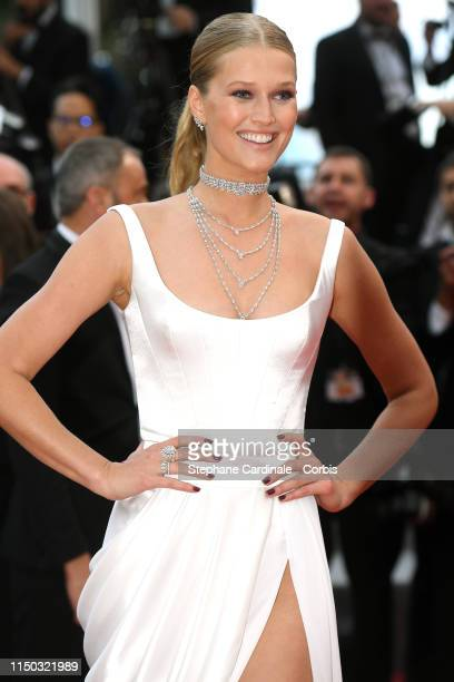 Toni Garrn attends the screening of A Hidden Life during the 72nd annual Cannes Film Festival on May 19 2019 in Cannes France
