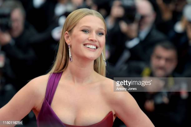 Toni Garrn attends the screening of Les Plus Belles Annees D'Une Vie during the 72nd annual Cannes Film Festival on May 18 2019 in Cannes France