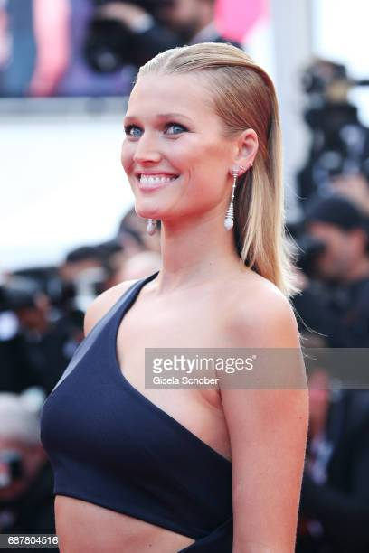 Toni Garrn attends the The Beguiled screening during the 70th annual Cannes Film Festival at Palais des Festivals on May 24 2017 in Cannes France