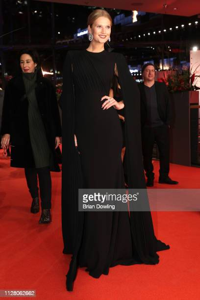 Toni Garrn attends the 'The Kindness Of Strangers' premiere during the 69th Berlinale International Film Festival Berlin at Berlinale Palace on...