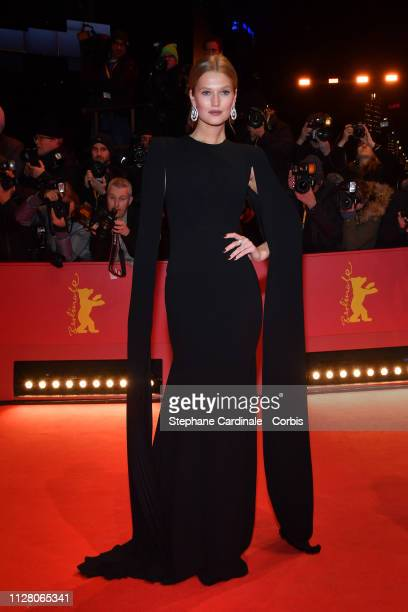 "Toni Garrn attends the ""The Kindness Of Strangers"" premiere during the 69th Berlinale International Film Festival Berlin at Berlinale Palace on..."
