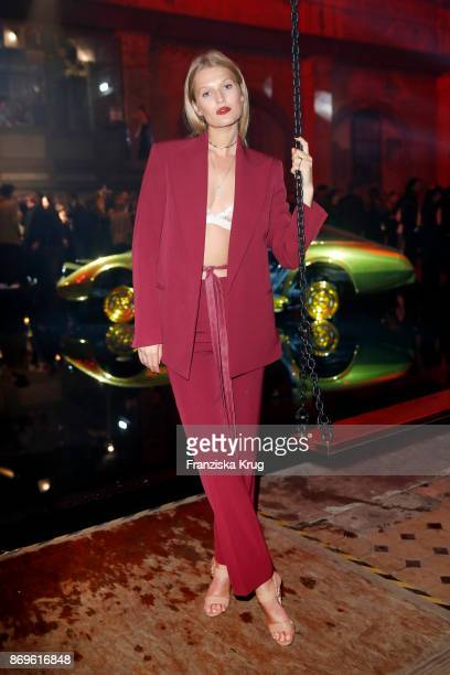 Toni Garrn attends the When the Ordinary becomes Precious #CartierParty at Old Power Station on November 2 2017 in Berlin Germany