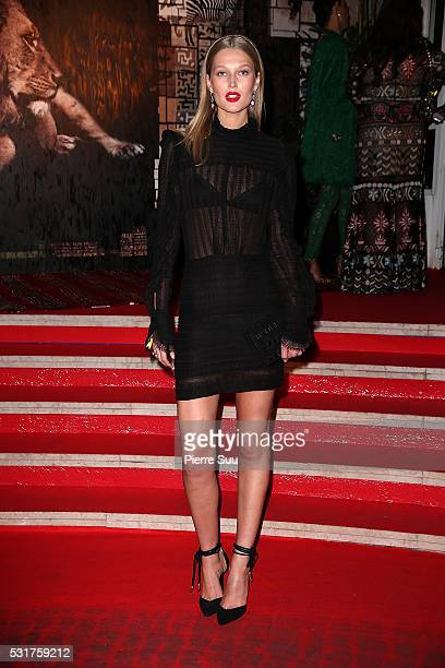Toni Garrn attends tThe Heart Fund Generous People Gala 2016 during the 69th Annual Cannes Film Festival on May 16 2016 in Cannes