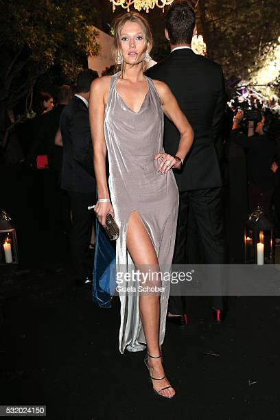 Toni Garrn during the 'De Grisogono' Party at the annual 69th Cannes Film Festival at Hotel du CapEdenRoc on May 17 2016 in Cap d'Antibes France
