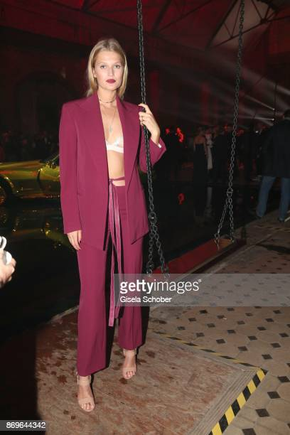 Toni Garrn during the 'When the Ordinary becomes Precious #CartierParty Berlin' at Old Power Station on November 2 2017 in Berlin Germany