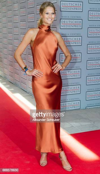 Toni Garrn is seen during the German Media Award 2016 at Kongresshaus on May 25 2017 in BadenBaden Germany The German Media Award has been presented...