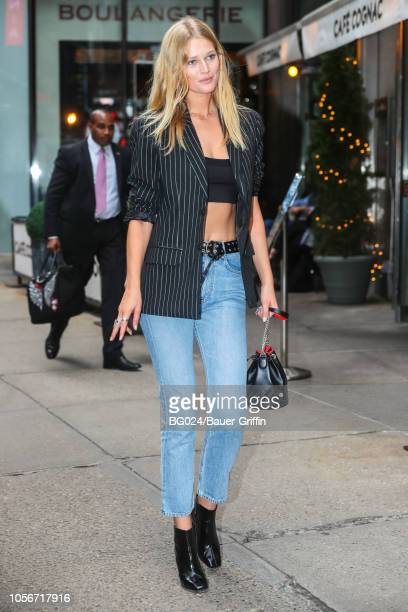 Toni Garrn is seen on November 02 2018 in New York City
