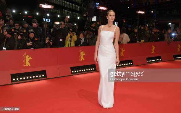 Toni Garrn wearing BOSS attends the Opening Ceremony 'Isle of Dogs' premiere during the 68th Berlinale International Film Festival Berlin at...