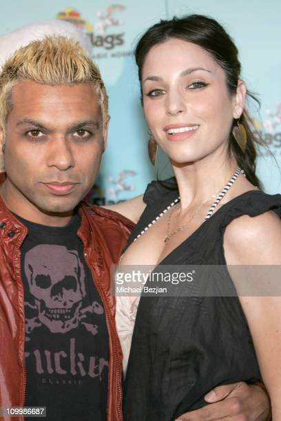 Toni Kanal of No Doubt and Erin Lokitz during Joe Francis Birthday Celebration In Conjunction with the Opening of new Rollercoaster Tatsu at Six...
