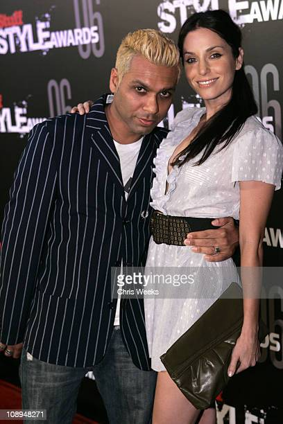 Toni Kanal of No Doubt and Erin Lokitz during Stuff Magazine Hosts The Stuff Style Awards Red Carpet at Arclight in Los Angeles California United...