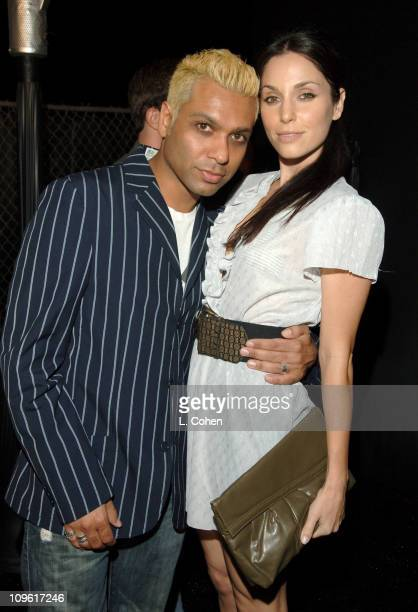 Toni Kanal of No Doubt and Erin Lokitz during Stuff Magazine Hosts The Stuff Style Awards Inside at ArcLight in Los Angeles California United States