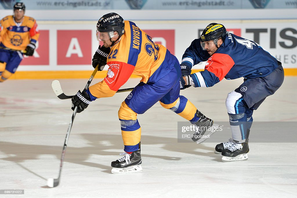 ERC Ingolstadt v Lukko Rauma - Champions Hockey League : News Photo