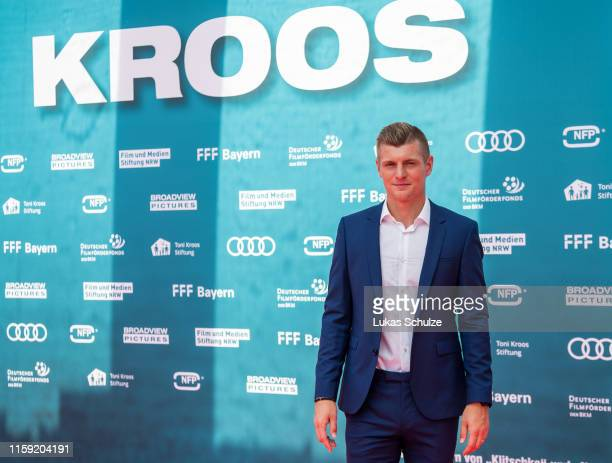 Toni Kroos attends the world premiere of the film Kroos at Cinedom on June 30 2019 in Cologne Germany