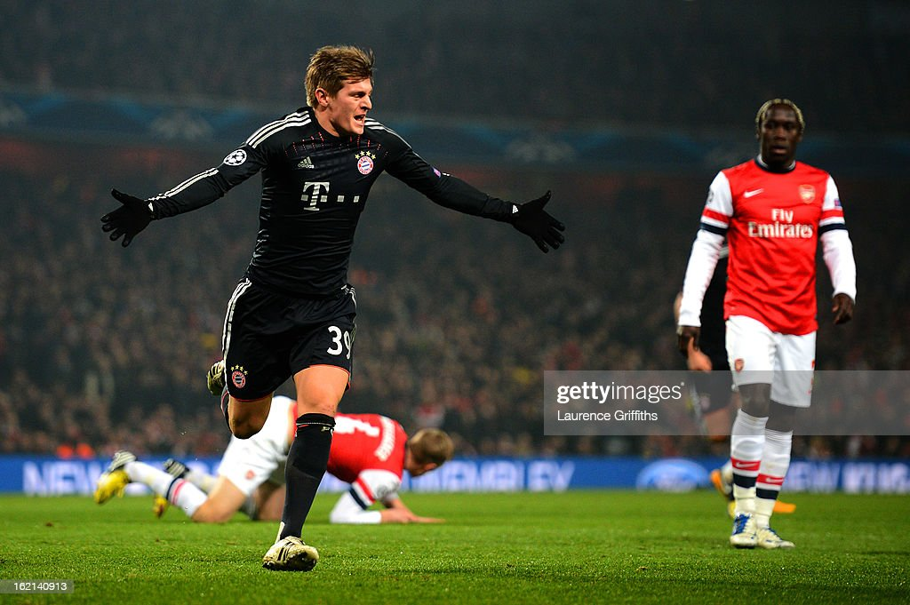 Arsenal v FC Bayern Muenchen - UEFA Champions League Round of 16 : News Photo