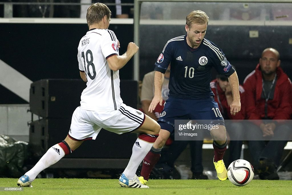 EURO 2016 qualifying match - 'Germany v Scotland' : News Photo