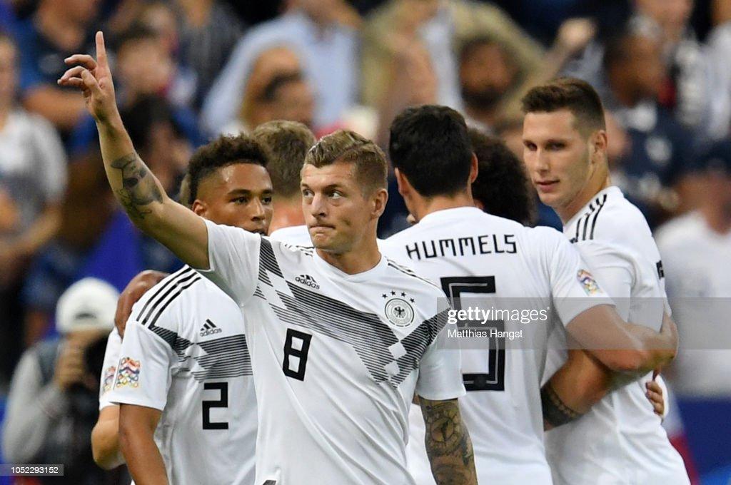 France v Germany - UEFA Nations League A : News Photo
