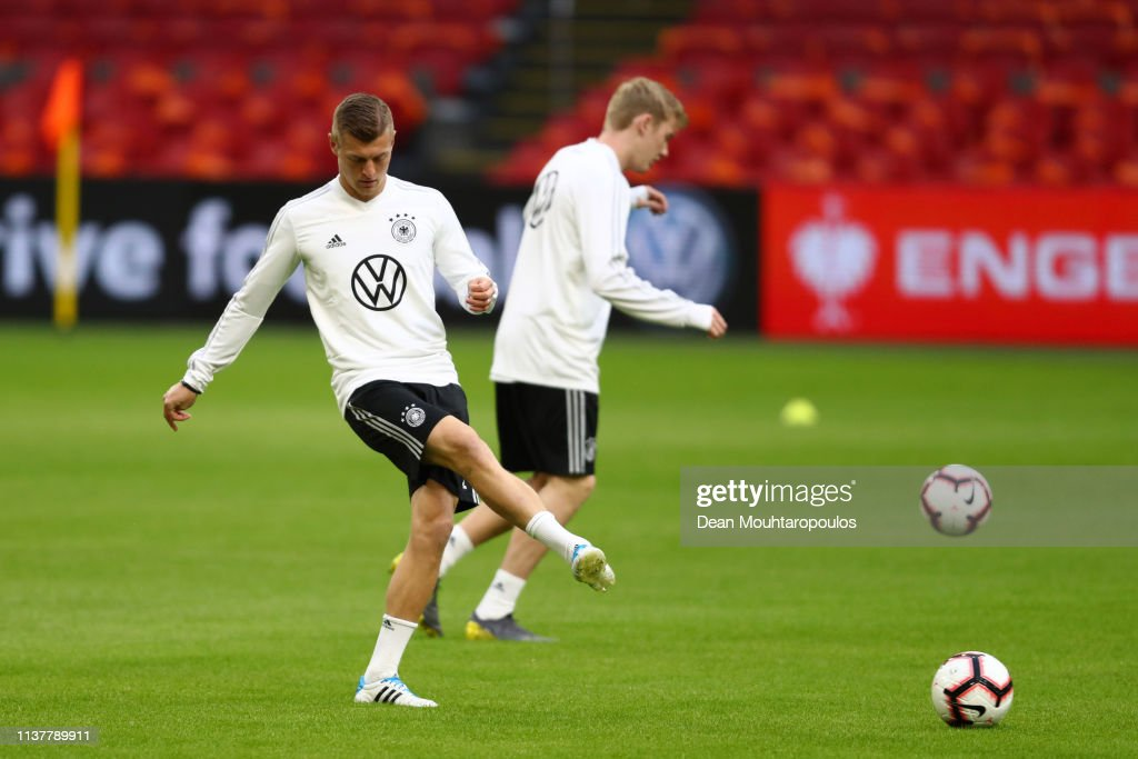 NLD: Germany Training And Press Conference
