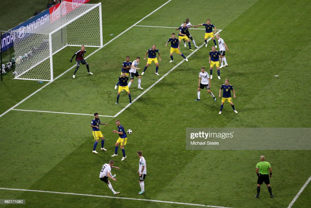 Germany v Sweden: Group F - 2018 FIFA World Cup Russia : Foto jornalística