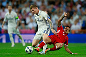 madrid spain toni kroos l real