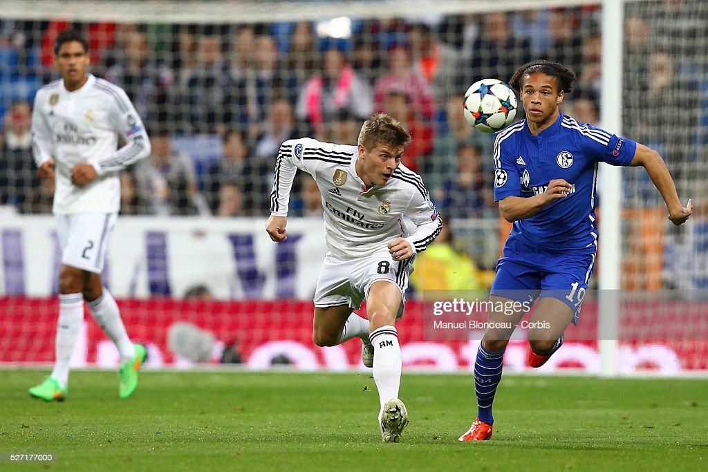 Football - UEFA Champions League - Real Madrid CF vs FC Schalke 04 : News Photo