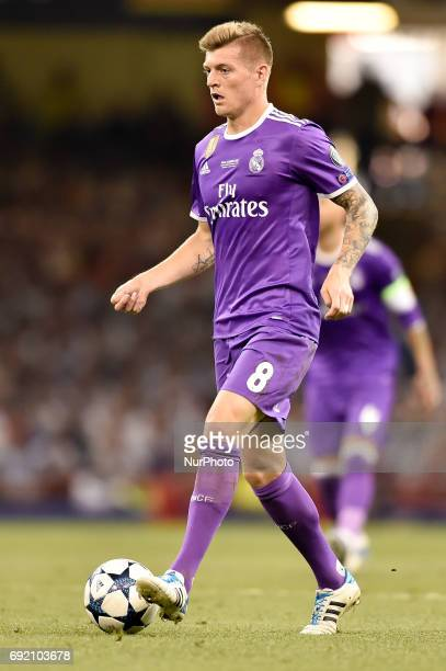 Toni Kroos of Real Madrid during the UEFA Champions League Final match between Real Madrid and Juventus at the National Stadium of Wales Cardiff...