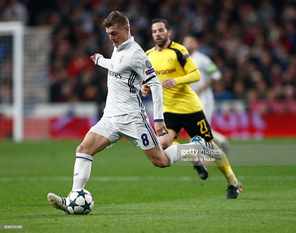 Real Madrid CF v Borussia Dortmund - UEFA Champions League : News Photo