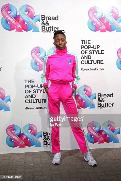 Toni Loba at the Zalando Fashion Show during Bread&&Butter by Zalando at Arena Berlin on September 1, 2018 in Berlin, Germany.
