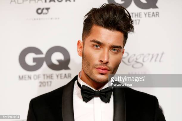 Toni Mahfud arrives for the GQ Men of the year Award 2017 at Komische Oper on November 9 2017 in Berlin Germany