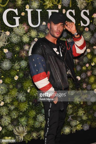 Toni Mahfud attends GUESS NYFW Fall Fashion Event at Public Hotel on September 13 2017 in New York City