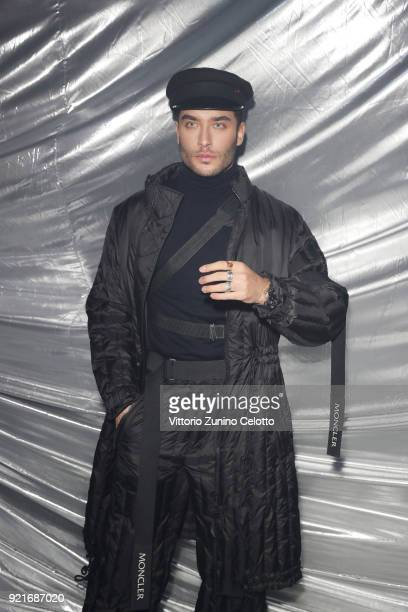 Toni Mahfud attends Moncler Genius during Milan Fashion Week on February 20 2018 in Milan Italy