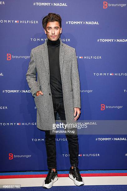 Toni Mahfud attends the attends the Tommy Hilfiger X Rafael Nadal @ Breuninger on November 10 2015 in Stuttgart Germany