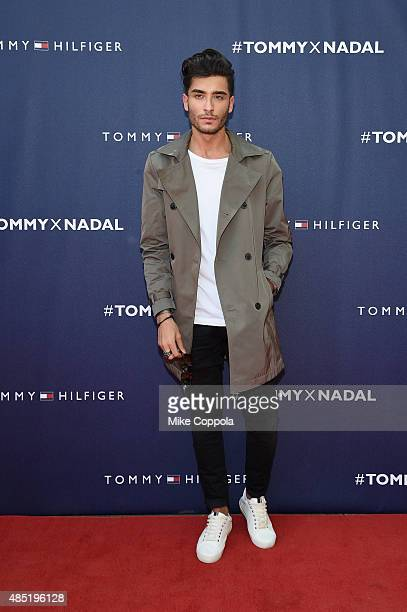 Toni Mahfud attends the Tommy Hilfiger and Rafael Nadal Global Brand Ambassadorship Launch at Bryant Park on August 25 2015 in New York City