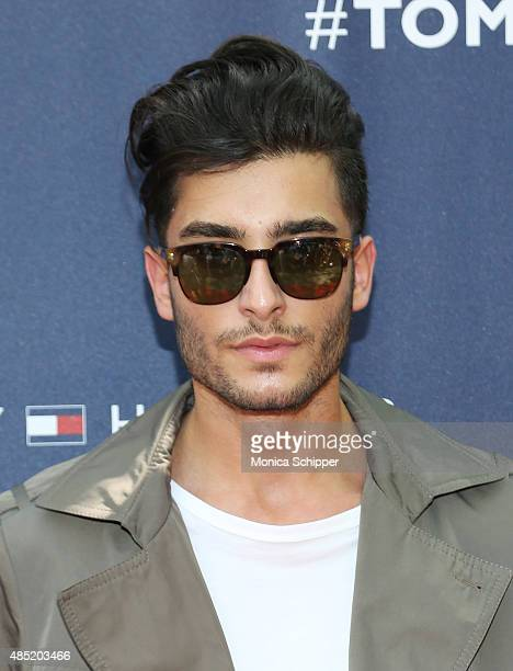 Toni Mahfud attends the Tommy Hilfiger And Rafael Nadal Global Brand Ambassadroship Launch Event at Bryant Park on August 25 2015 in New York City