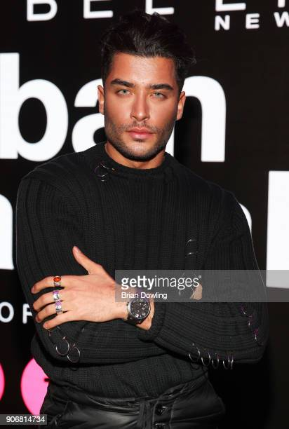 Toni Mahfud during the Maybelline Show 'Urban Catwalk Faces of New York' at Vollgutlager on January 18 2018 in Berlin Germany