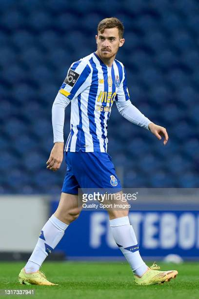 Toni Martinez of FC Porto looks on during the Liga NOS match between FC Porto and SC Farense at Estadio do Dragao on May 10, 2021 in Porto, Portugal....