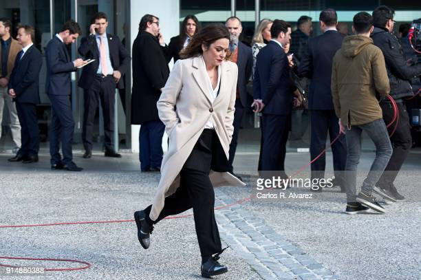 Toni Moreno attends the Gold Medals of Merit in Fine Arts 2016 ceremony at the Pompidou Center on February 6 2018 in Malaga Spain
