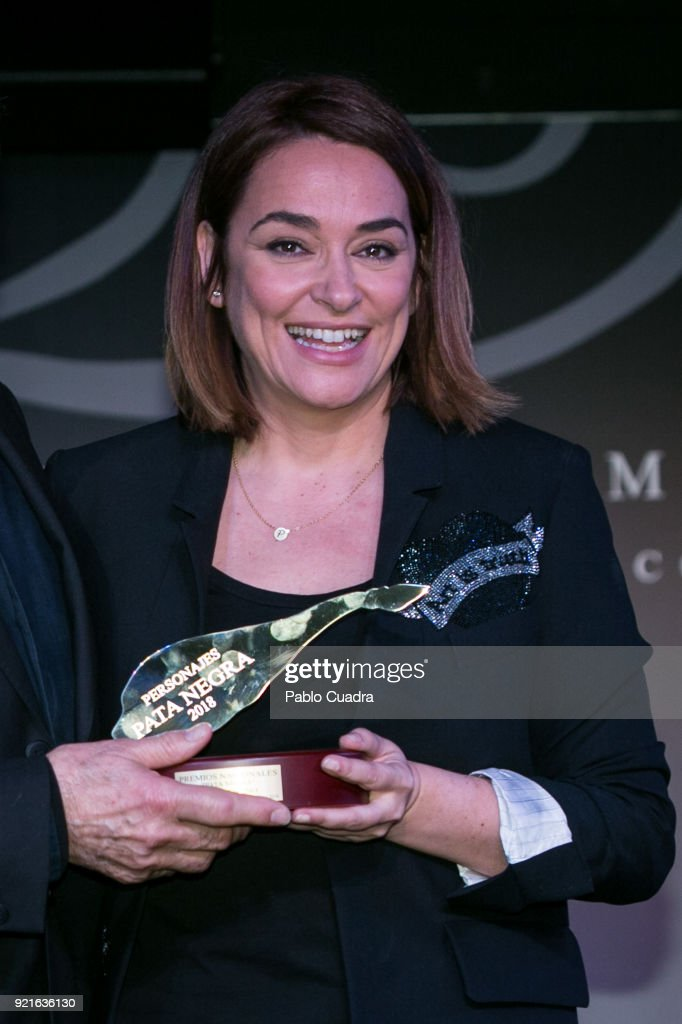 Toni Moreno attends the 'Pata Negra' awards at the Corral de la Moreria club on February 20, 2018 in Madrid, Spain.