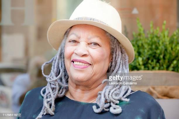 Toni Morrison, American writer, novelist, editor, Italy, September 2012.