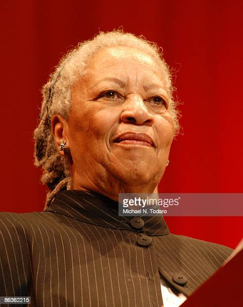 Toni Morrison attends the 2nd Annual New Jersey Hall of Fame Induction Ceremony at the New Jersey Performing Arts Center on May 3 2009 in Newark New...