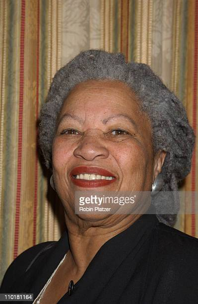 Toni Morrison during Women in Communications Matrix Awards Luncheon at the Waldorf Astoria Hotel in New York New York United States