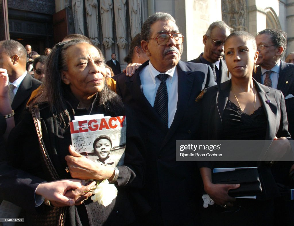 Funeral service for Gordon Parks - Departures - March 14, 2006