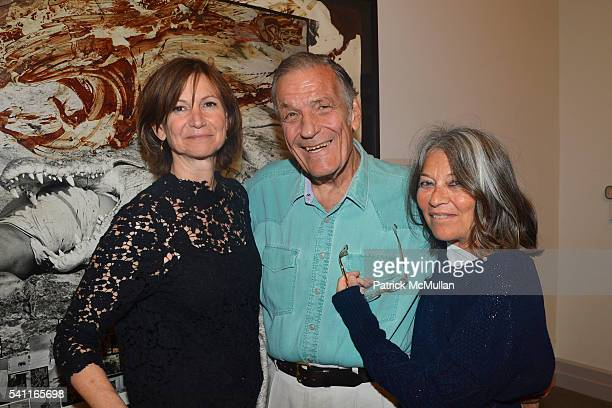 Toni Ross Peter Duchin and Jane Wenner attend the Members Only Reception at The Museum at Guild Hall for Peter Beard Last Word From Paradise at Guild...
